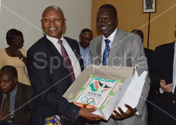 NATIONAL OLYMPIC COMMITTEE-KENYA (NOCK) HAND-OVER