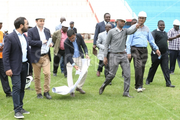 3RD CAF INSPECTION VISIT AHEAD OF CHAN CHAMPIONSHIP