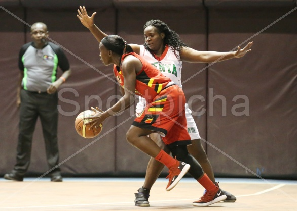 KENYA VS UGANDA LADIES BASKETBALL FRIENDLY