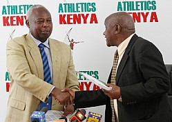 ATHLETICS KENYA PRESS CONFERENCE ON VARIOUS COMPETITIONS FOR THE 2016 CALENDAR