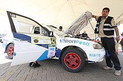 SAFARI RALLY SCRUTINEERING