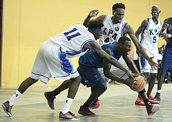 BLADES VS KENYA PORTS AUTHORITY BASKETBALL LEAGUE