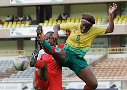 HARAMBEE STARLETS VS CAMEROON INTERNATIONAL FRIENDLY