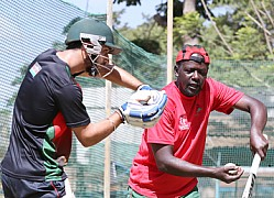 KENYA CRICKET TEAM TRAINING