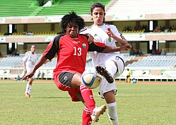 KENYA VS ALGERIA WOMEN AFCON FOOTBALL QUALIFIER