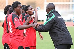 KENYA VS ALGERIA-2016 AFRICA WOMEN CUP OF NATIONS QUALIFIER