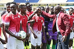 HARAMBEE STARS TRAIN FOR ETHIOPIA AFCON QUALIFIER
