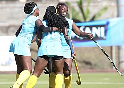 SLIDERS VS WEATHERHEAD 2016 EDITION OF AFRICA CUP OF NATIONS HOCKEY CHAMPIONSHIP