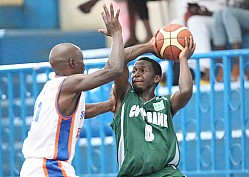 THUNDER VS COOPERATIVE BANK OF KENYA BASKETBALL