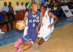 KPA VS STRATHMORE BASKETBALL LEAGUE