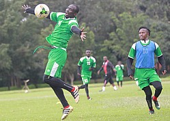 HARAMBEE STARS TRAIN AHEAD OF FRIENDLIES