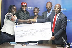 STANBIC BANK CHEQUE HAND-OVER