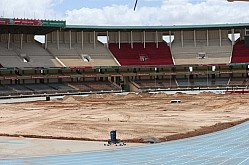 Kasarani stadium renovation