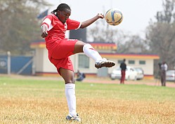 HARAMBEE STARLETS TRAIN FOR COSAFA TOURNAMENT