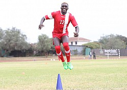 HARAMBEE STARS TRAIN FOR MAURITANIA AND MOROCCO FRIENDLY