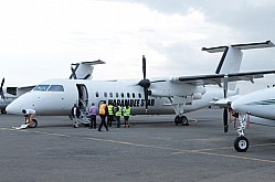The chartered plane to take Harambee Stars to Praia, Cape Verde