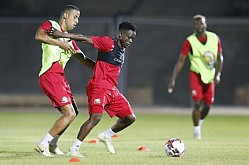 KENYA TRAIN FOR AFCON MATCH AGAINST TANZANIA