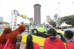 ARC SAFARI RALLY 2018 FLAG-OFF