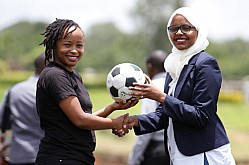 MCHEZA BETTING COMPANY SPONSOR GREEN SPORTS AFRICA ASTROTURF TOURNAMENT