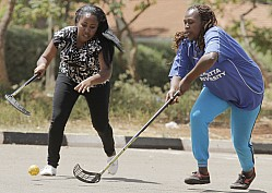 TSUNAMI QUEENS VS KENYATTA UNIVERSITY FLOORBALL NATIONAL LEAGUE