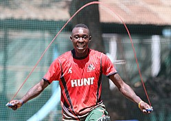 CRICKET KENYA TEAM PLAYERS TRAIN