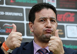 Mohamed Madoun the  president of the Confederation of African Deaf Sports (CADS)