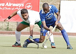 EASTERN VS KENYA POLICE 2017 EDITION OF AFRICA CUP OF NATIONS HOCKEY CHAMPIONSHIP FINALS