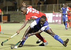 GHANA POLICE VS KENYA POLICE 2016 EDITION OF AFRICA CUP OF NATIONS HOCKEY CHAMPIONSHIP