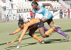 ORANGE VS SLIDERS 2016 EDITION OF AFRICA CUP OF NATIONS HOCKEY CHAMPIONSHIP