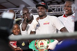 AFRICA BOXING UNION TITLE FIGHT