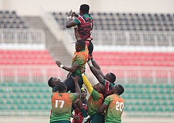 Kenya Simbas vs Zambia Rugby Africa Cup