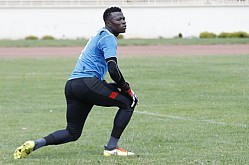 Tusker FC players train for Caf Champions League clash against Zamalek